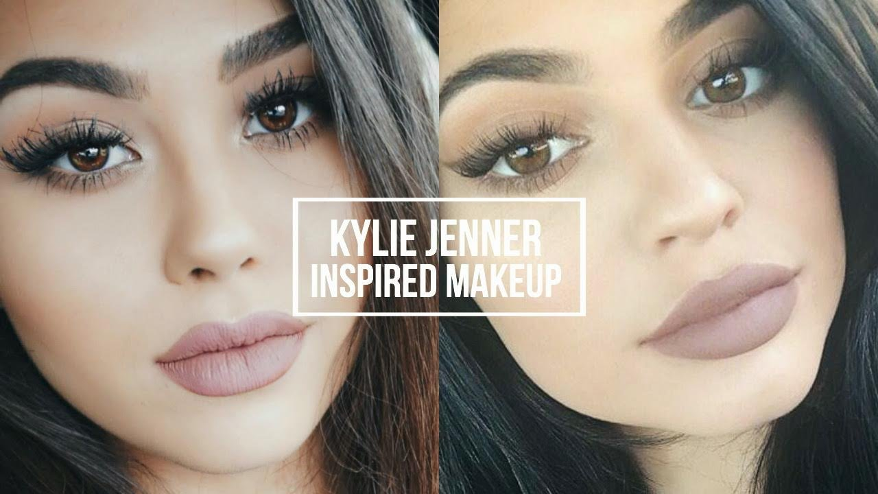 Kylie jenner inspired makeup tutorial natural smokey eye kylie jenner inspired makeup tutorial natural smokey eye classic kylie lip roxette arisa youtube baditri Gallery