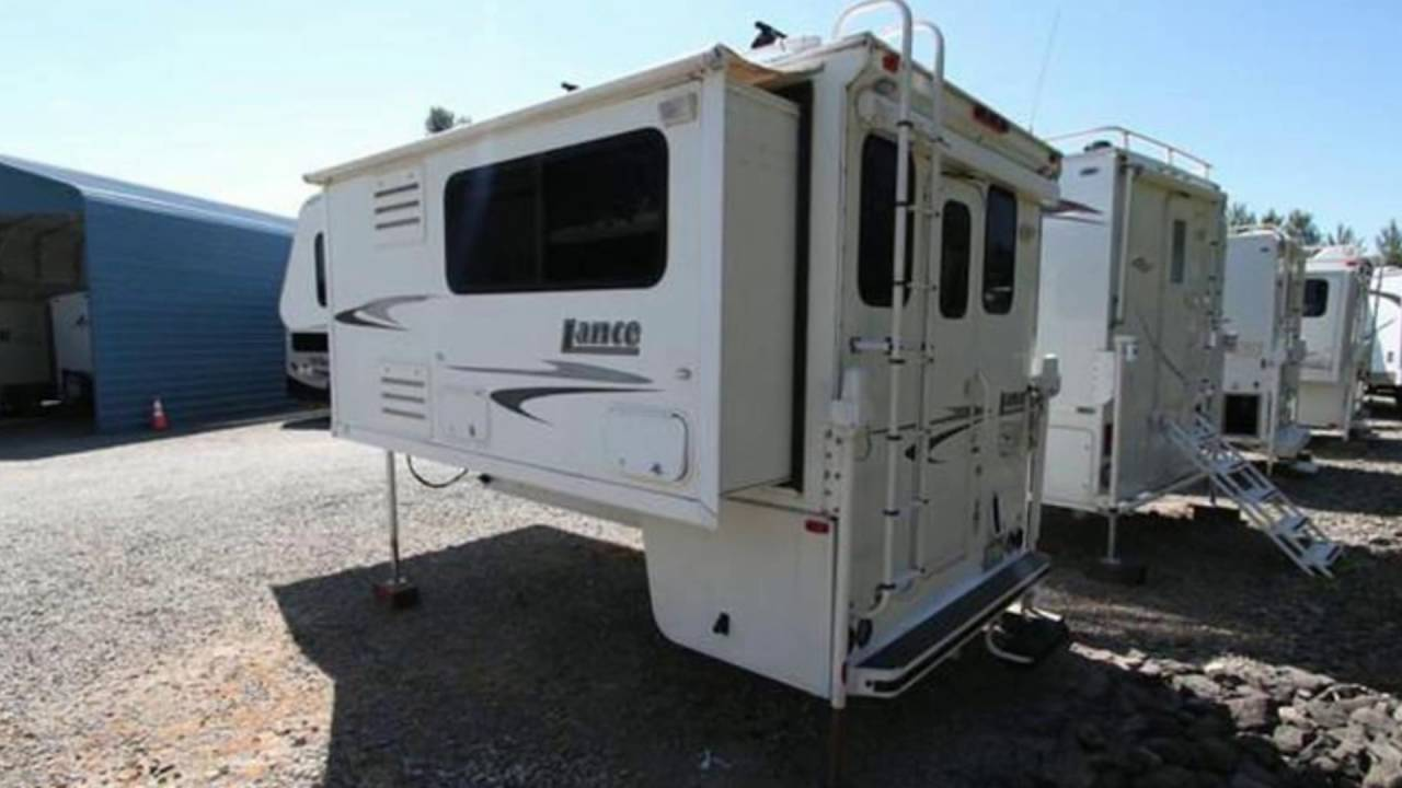 Used 2006 Lance 1181 Truck Camper For Sale In Sumner And