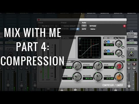 Mix With Me: Compression (Part 4 of 6) – RecordingRevolution.com