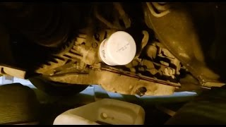 Замена масла в АКПП Subaru Outback/Legacy Replacing the oil in an automatic transmission