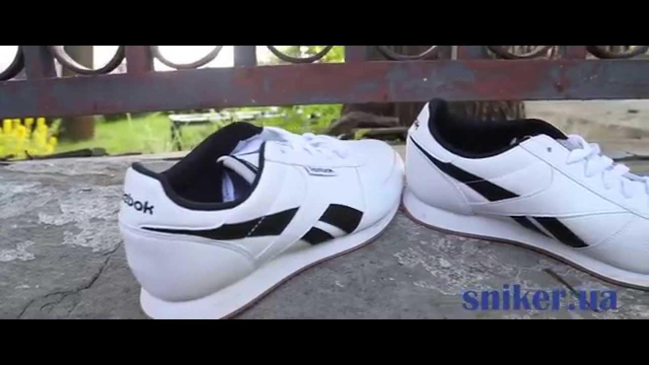 f73cc6fd9 Кожаные мужские кроссовки Reebok Royal Classic Jogger - YouTube