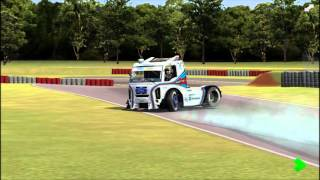 Formula Truck Simulator 2013 - GAMEPLAY- G27