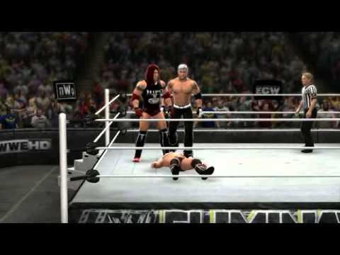 WWE '13 Doble LIONSAULT