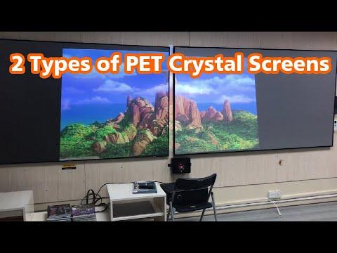 Different UST ALR PET Crystal Screens Comparison