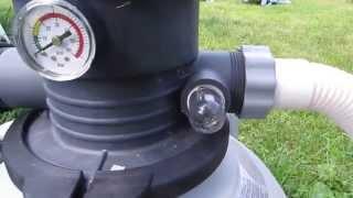 видео Песочный фильтр насос для бассейна: инструкция