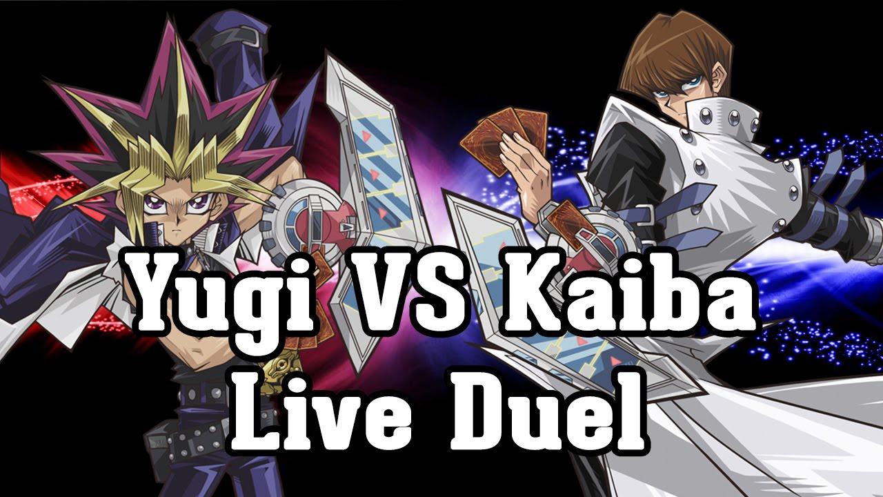 Yu Gi Oh Yugi Vs Kaiba Live Duel World Championship 2016 Youtube