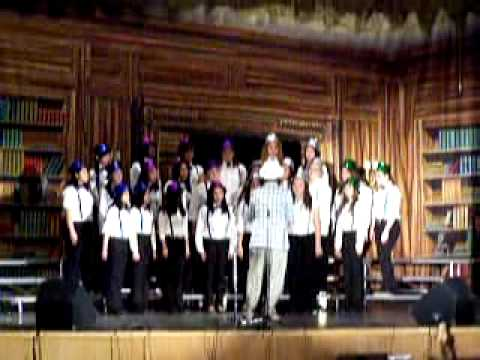 The Belle Chords of Bogota High School sing One Fine Day