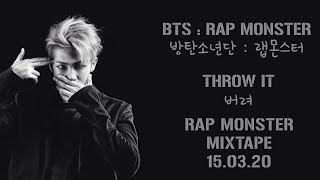 BTS Rap Monster (랩몬스터) - Throw It 버려 [Lyrics Han|Rom|Eng]
