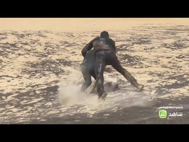 معركة بين ظافر العابدين ورامز جلال.. وفريق العمل يتدخل