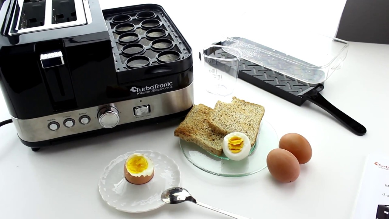 Lidl Silvercrest Eierkocher Unboxing 2 Scheiben Toaster Breakfast Line 3in1 Eierkocher Mini Pfanne Steamer Dampfgarer