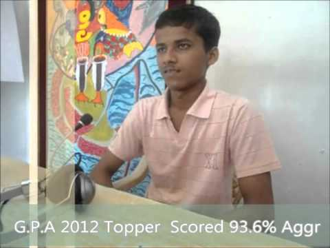 Interview of Harshwarhan Dhote-II  Topper of Government Polytechnic!