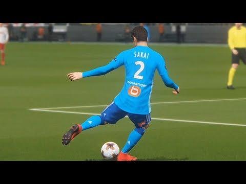 PES 2018 - RB Leipzig vs Olympique de Marseille - UEFA Europa League Gameplay (PS4 HD) [1080p60FPS]