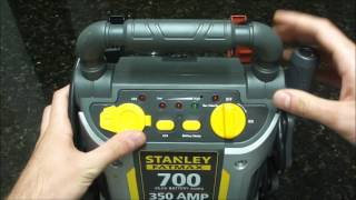 stanley j7cs 350 amp battery jump starter with compressor review