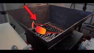 Experiment Shredding 100 Sunglasses