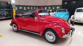 VW Fusca Vermelho 1973 Conversível que entregamos para o cliente - TROCAR AUTOS ANTIGOS