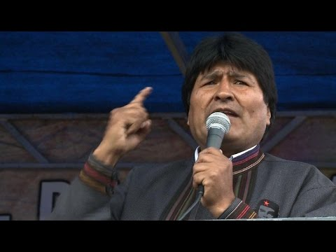 Evo Morales: Bolivia's first indigenous president