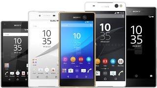 ¿Qué celular Sony Xperia escoger? 2017