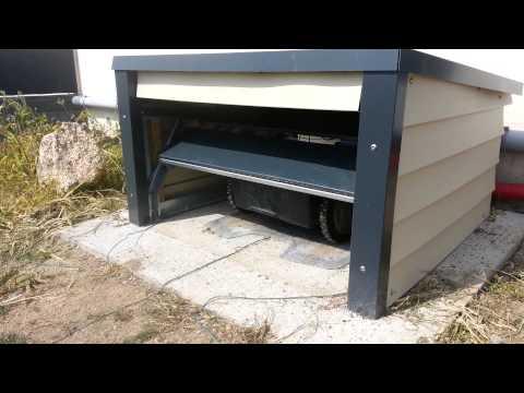 carport f r rasenm her roboter bauen. Black Bedroom Furniture Sets. Home Design Ideas