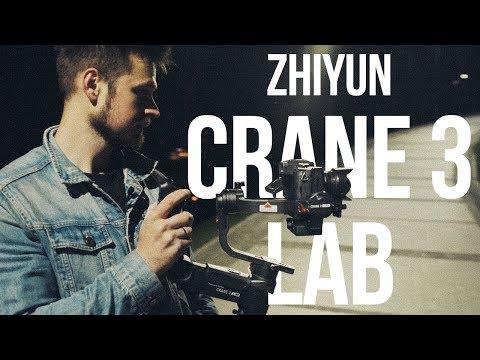 Обзор стабилизатора Zhiyun CRANE 3 LAB | ZY-tech.com.ua
