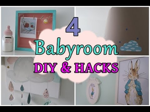 Ideen Fur Das Babyzimmer Diy Dekorationen Gunstige Hacks Youtube