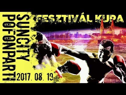 Magyar Ökölvívó Szakszövetség&Boxvilág Ökölvívóképző SE bemutatja:Fesztivál Kupa-Suncity Pofonparti