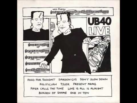 UB40 - Food For Thought (Live Album)