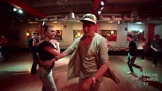 Andrew Ushkalov Elena Bryleva Salsa Social Dancing Respublika Rostov 9 09 17