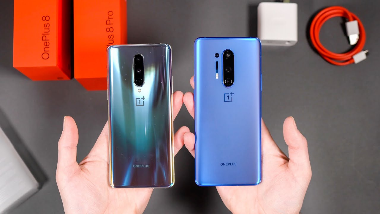 ONEPLUS 8 PRO and ONEPLUS 8 Unboxing!