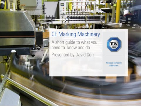 CE Machinery Marking
