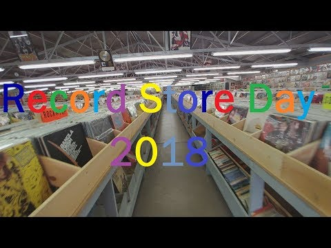 Record Store Day 2018  Rare Exclusives, Cool Finds, and Exploring A Record n Store