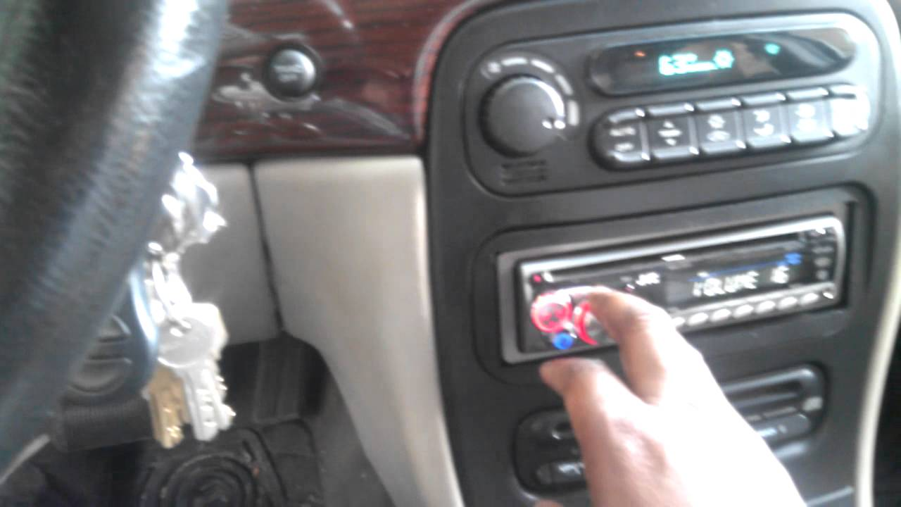 installing radio in chrysler 300m part 2