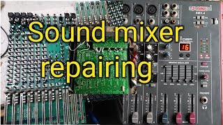 5 Core Sound Mixer repair || 5 Core || Power supply problem and Sound output