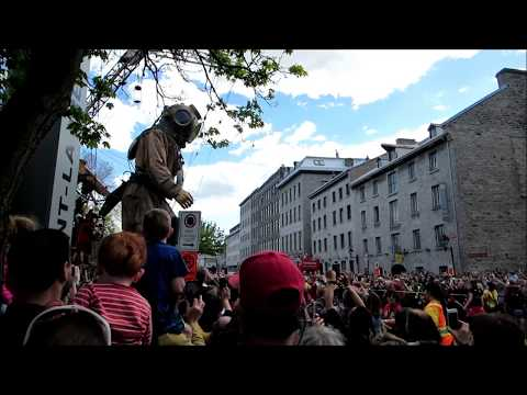 Giants (Diver) Montreal, Quebec Canada May 19th 2017 - Old Montreal