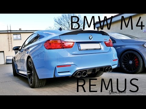 BMW M4 With REMUS Exhaust And Carbon Parts