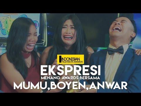 Cover Lagu Ekspresi Menang Awards - Mumu, Boyen & Anwar