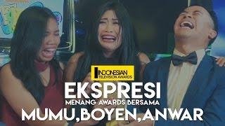 EKSPRESI MENANG AWARDS - Mumu, Boyen & Anwar