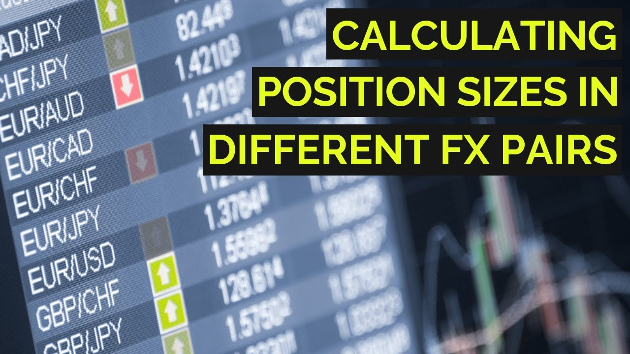 How to calculate position size forex