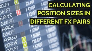 How to Calculate Position Size When Forex Trading 👍