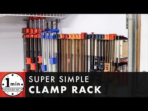 Super Simple Clamp Rack