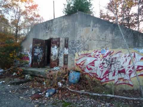 Abandoned Chemical Storage Bunkers Waterbury Ct