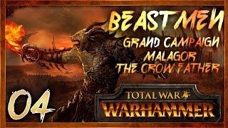 [4] DWARF GENOCIDE - Total War: Warhammer (Beastmen) Campaign Walkthrough