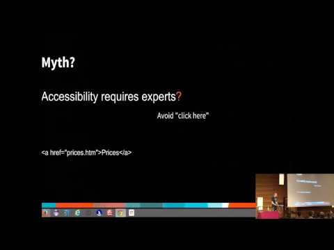 GWT.create 2013 - Accessibility for web appliations
