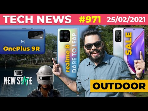 realme 8 Coming W/ 108MP Camera, PUBG New State Is Here, Redmi Note 10 On Sale, OnePlus 9R-#TTN971