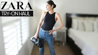 ZARA Jeans Try-On HAUL 2021 *New in    The Allure Edition Haul
