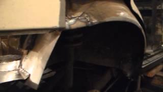 Замена задних арок+сварка задка(багажника) ВАЗ ЛАДА 21099.