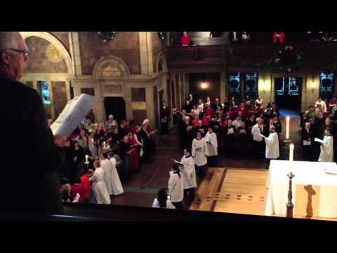 """Hark! The herald angels sing"", St. Bartholomew's Church"