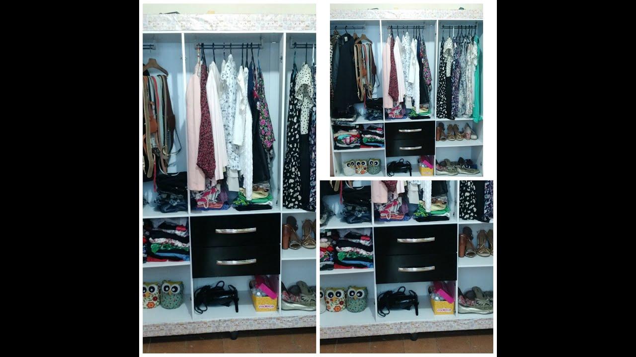 Guarda Roupa Em L ~ Como transformar seu guarda roupas em um Closet! YouTube