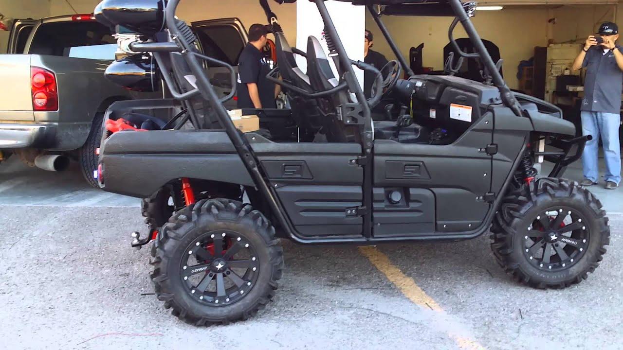 Kawasaki T Rex Side By Side