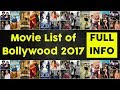 List of Bollywood Movies Wiki of 2017 with full info || Bollywood Josh