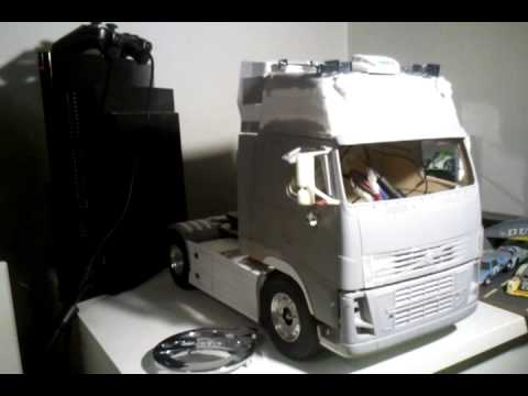 volvo fh16 tamiya avec usm youtube. Black Bedroom Furniture Sets. Home Design Ideas